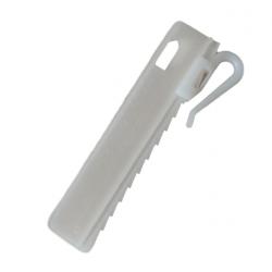 Haczyk microflex biały 75mm...